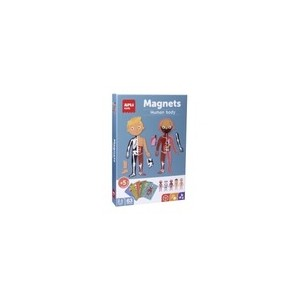 APLI Kids - magnetyczna układanka - Ciało człowieka (Z3403)