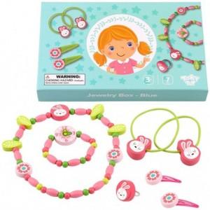 Tooky Toy - Zestaw biżuterii dla dziewczynki - Miętowy (Z3456)