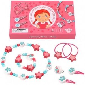 Tooky Toy - Zestaw biżuterii dla dziewczynki - Różowy (Z3457)