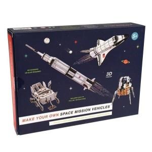 Rex London - puzzle 3D - przestrzenna układanka Kosmos (Z3482)