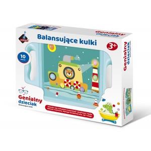 Askato - Genialny dzieciak - Gra zręcznościowa Balansujące kulki (Z3528)