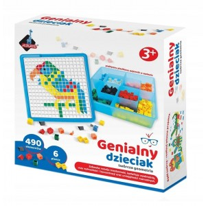 Askato - Genialny Dzieciak - Mozaika Twórcza Geometria (Z3529)