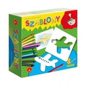 Alexander - Szablony - zabawka edukacyjna - dla chłopców (Z3546)