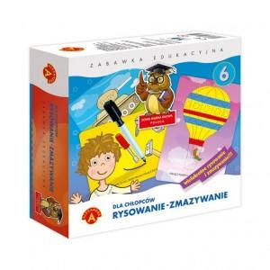 Alexander - Rysowanie-Zmazywanie - zabawka edukacyjna - dla chłopców (Z3548)