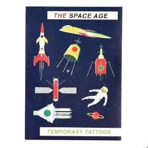 Rex London - tatuaże dla dzieci - Kosmos (Z3550)