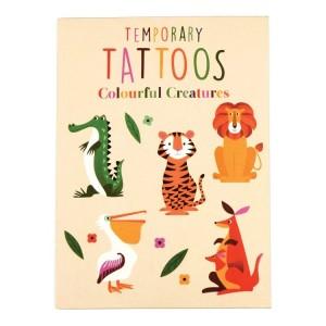 Rex London - tatuaże dla dzieci - Kolorowe zwierzęta (Z3552)