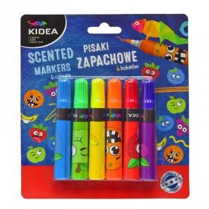 KIDEA - Pisaki zapachowe 6 kolorów (Z3554)