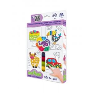 TM Lovin'Do Edu Kids - masa plastyczna z szablonami (Z3580)