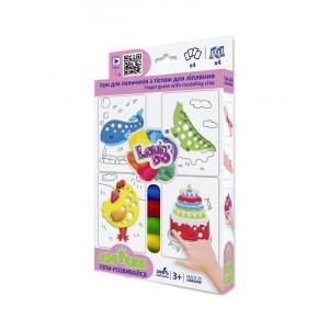 TM Lovin'Do Edu Kids - masa plastyczna z szablonami (Z3581)