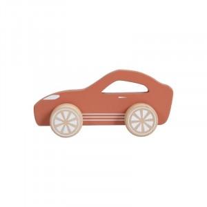 Little Dutch Drewniane sportowe autko - Wyścigówka (Z3600)