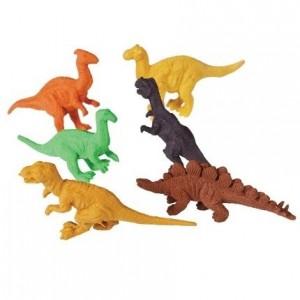 Rex London - gumki do zmazywania - Dinozaury 6szt (Z3608)