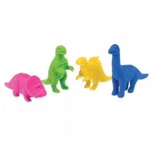 Rex London - gumki do zmazywania - Dinozaury 4szt (Z3609)