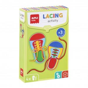 APLI Kids - zestaw do nauki wiązania butów (Z3614)