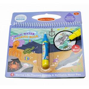Książeczka wodna z mazakiem - Podwodny świat (Z3826)
