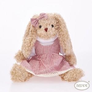BEPPE -Królik Rosalie w sukience 30cm (Z3845)