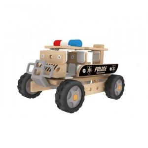 CLASSICWORLD - Autoskładak Ciężarówka policyjna (Z0973)