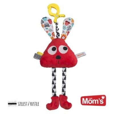 Długołapek do wózka, łóżeczka, fotelika Mom's Care Hencz Toys - Czerwony (Z1379)