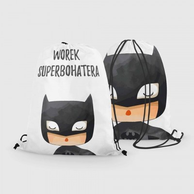 Worko - plecak wodoodporny - Batman Superbohater (Z1629)