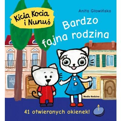 Kicia Kocia i Nunuś - Bardzo fajna rodzina z okienkami (Z1772)