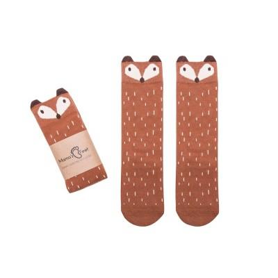 Podkolanówki Liski- rudy lisek Grzesiu Mama's Feet 3-4 lata (Z1775)