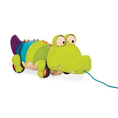 B.Toys - krokodyl do ciągnięcia na sznureczku (Z2100)