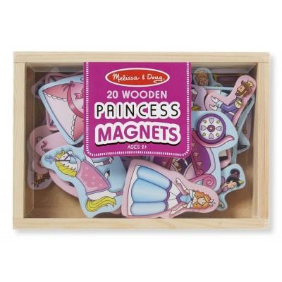 Melissa&Doug - kolorowe magnesy Księżniczki (Z2193)