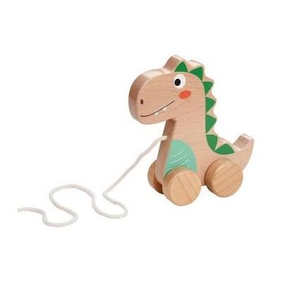 Lelin - drewniany dinozaur do ciągnięcia (Z2244)