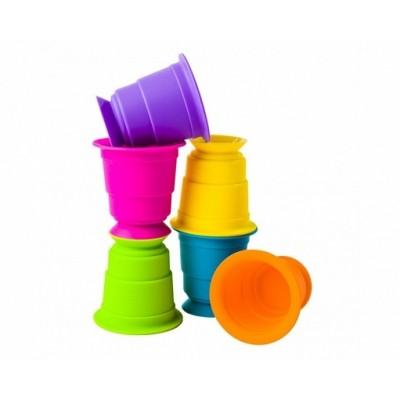 Fat Brain Toys - kubeczki przyssawki (Z2295)