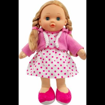 Lalka szmacianka - zamyka oczy, mówi i śpiewa (Z2494)