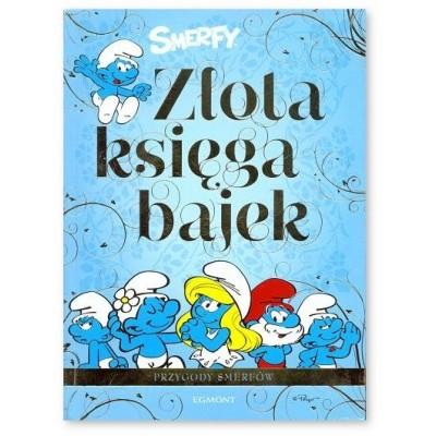 Egmont - Złota księga bajek - Przygody Smerfów (Z2740)