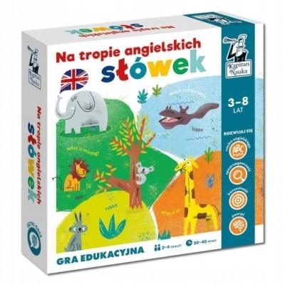 Kapitan Nauka - Gra edukacyjna - Na tropie angielskich słówek (Z2752)
