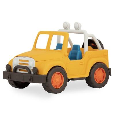 B.Toys - Wonder Wheels 1+ - Jeep 4x4 żółty (Z2849)