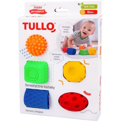 Tullo - sensoryczne kształty - 5 szt. (Z3034)