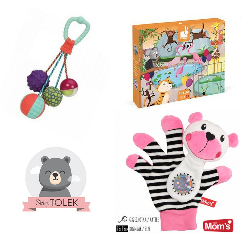 Wybór zabawek sensorycznych