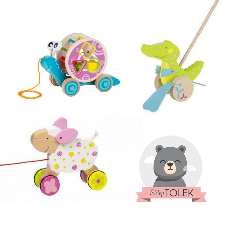 Zabawki sensoryczne wspomagające naukę chodzenia