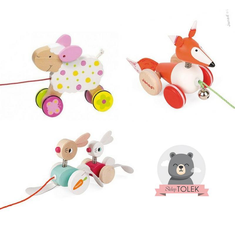 Zabawki do pchania lub ciągnięcia