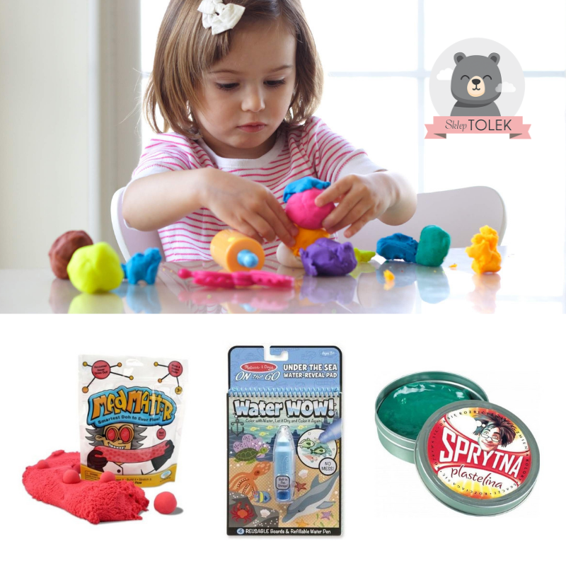 Zabawki plastyczne dla czterolatka